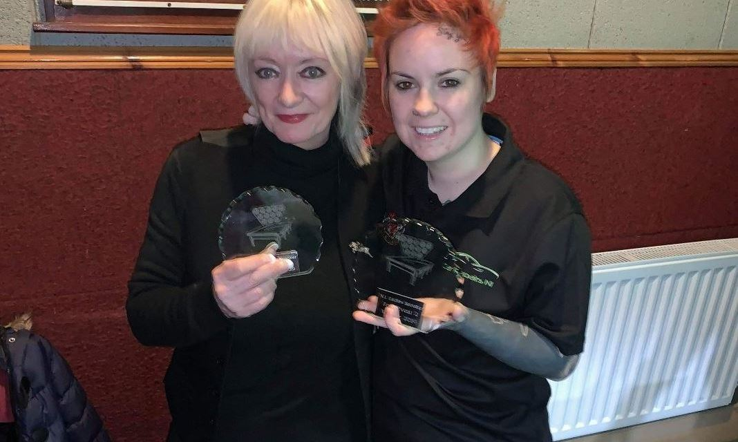 Chucky Preston makes it 2 in row Winning NI ladies Snooker Tour 2 event