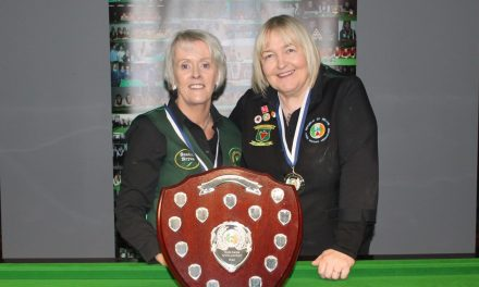 Sandra Bryan retains her National Masters Title at Sharkx Newbridge