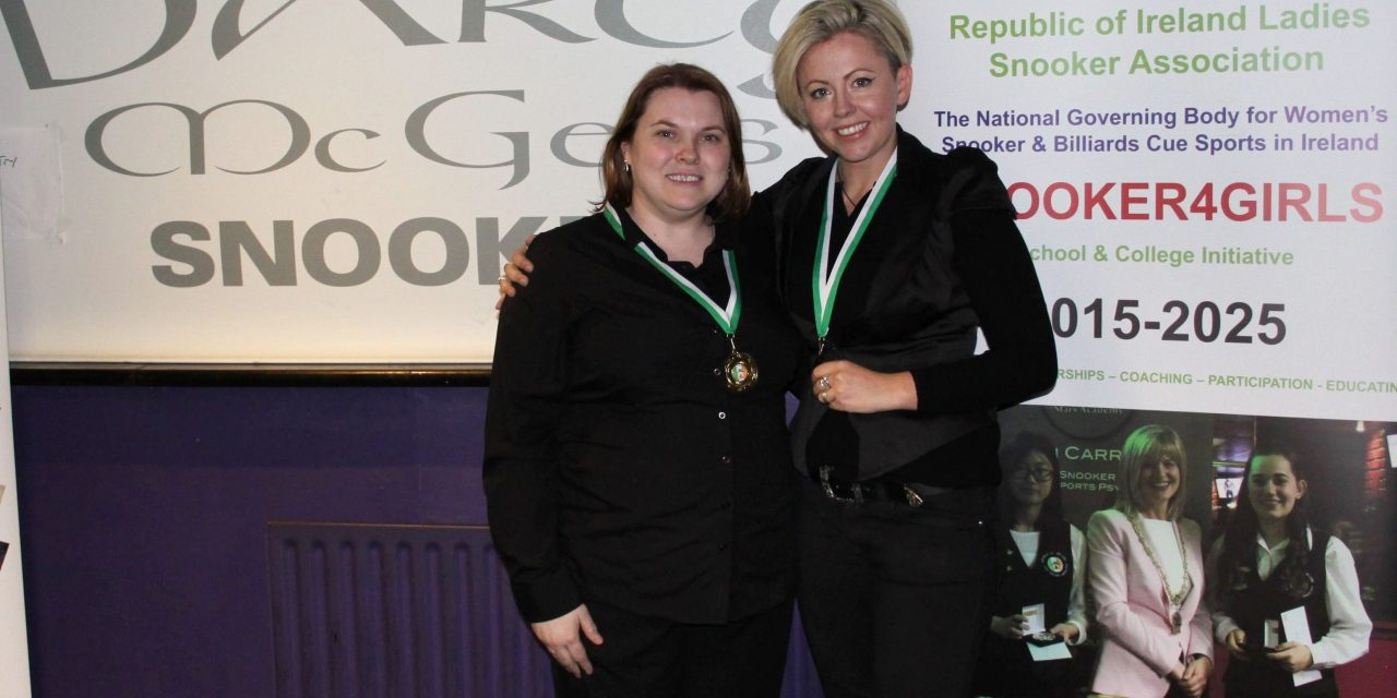 Joanna Ward wins her second Intermediate Ranking at D'Arcy McGees Spawell