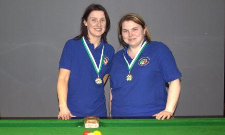 Valerie Maloney Wins Intermediate Billiards Ranking 1 at Sharkx Newbridge