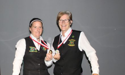 Christine Carr Wins Intermediate Plate Competition at Sharkx Newbridge