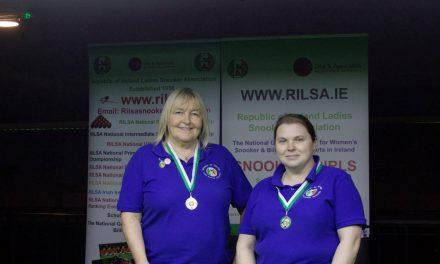 Annette Newman Wins Billiards Ranking 4 – The Kildare Open at the RILSA Academy Sharkx Newbridge