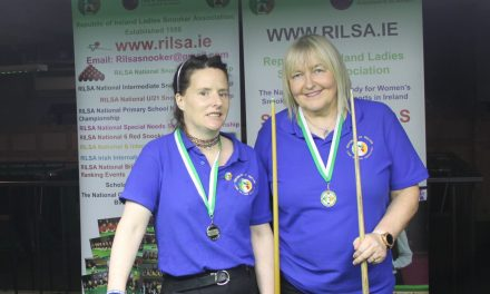 Annette Newman Wins Billiards Ranking 5 – The Leinster Open at Sharkx Newbridge