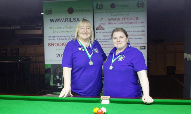 Annette Newman Wins National Billiards Ranking 6 – The Sharkx Masters in Newbridge