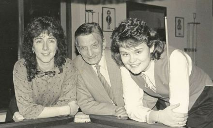 Influencers in Female Cue Sports – Paddy Comerford RILSA's second President
