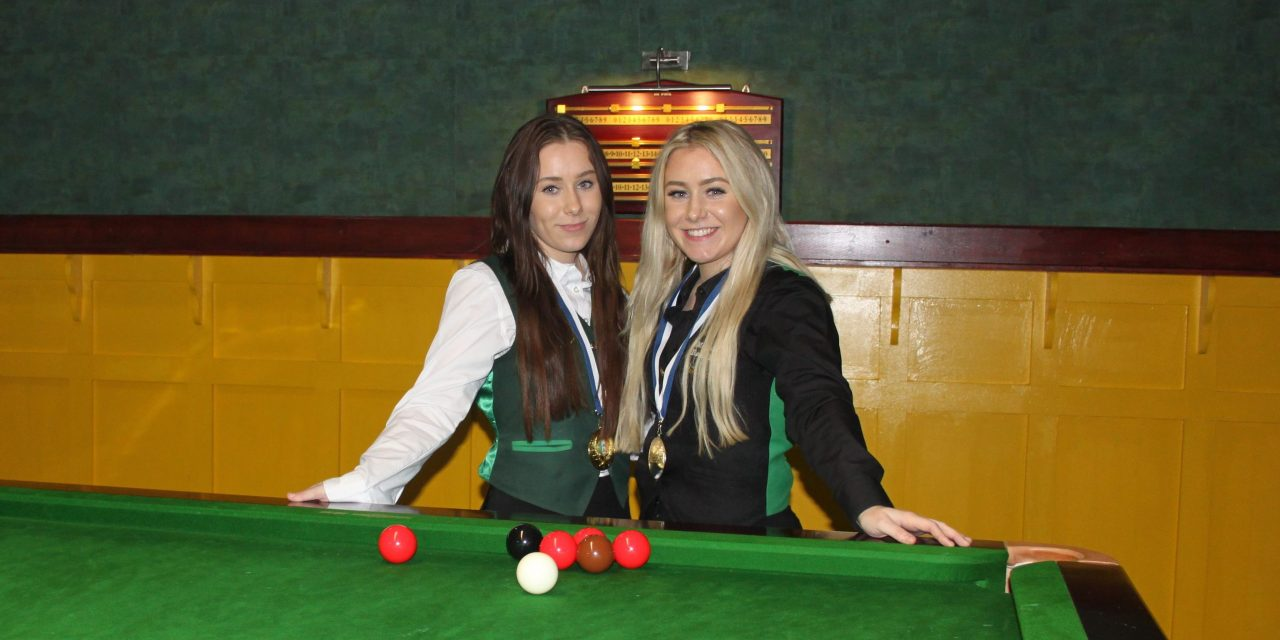 Megan Randle Wins RILSA National Intermediate Snooker Ranking 2 at Sharkx Newbridge