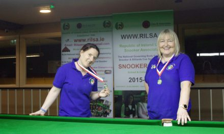 Annette Newman Wins the first National Billiards Ranking Event of the new season