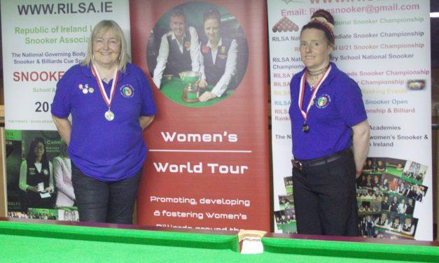 Annette Newman Wins National Billiards Ranking 2 – The Sharkx Open in Newbridge