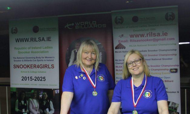 Annette Newman Wins National Amateur Billiards Ranking – The Kildare Open in Newbridge