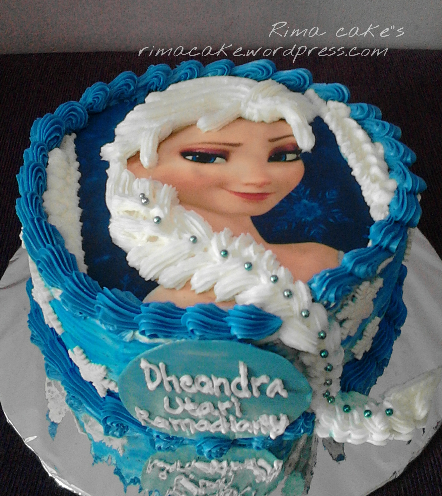 Cake Ultah Icing Rima S Kuliner Amp Cake Pontianak