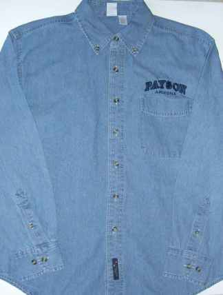 Payson Long-sleeved Denim Shirt