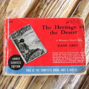 Armed Services Editions of The Heritage of the Desert