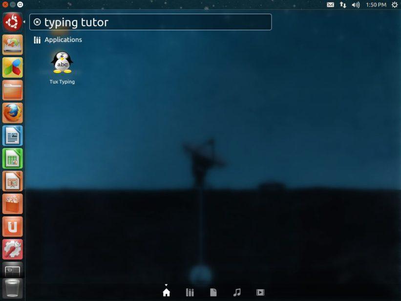 Edubuntu screenshot.