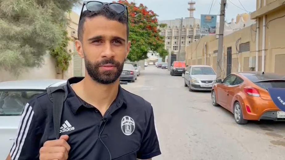 محمد ناصر لاعب المدينة