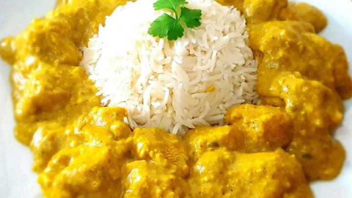 Guilt Free Chicken Korma