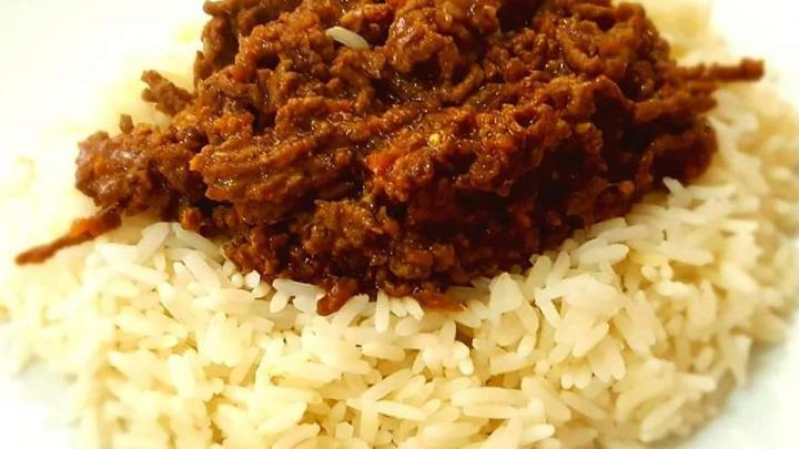 Korean Spice Beef and Rice
