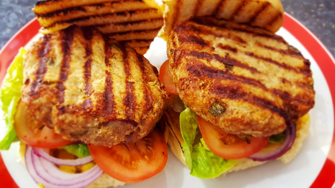 Pork and Apples Burgers