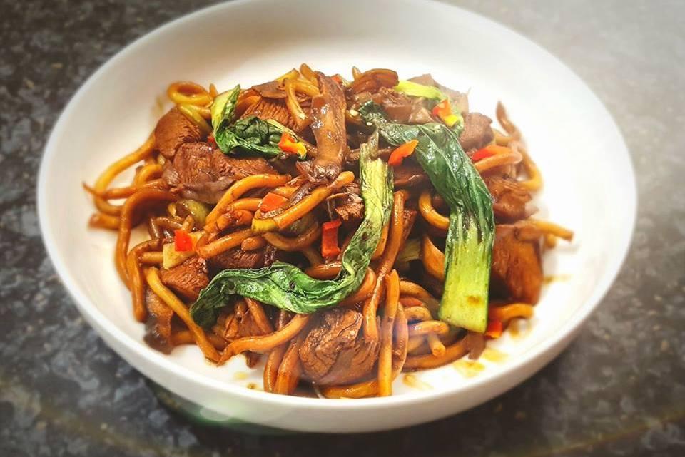 Shanghai Chicken Noodles