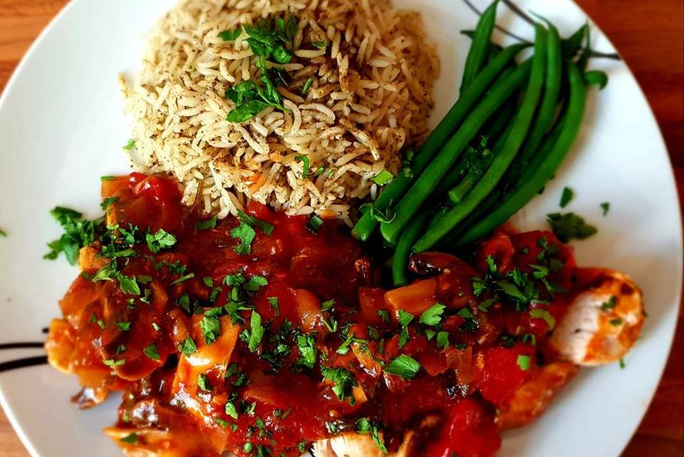 French Chicken Marengo