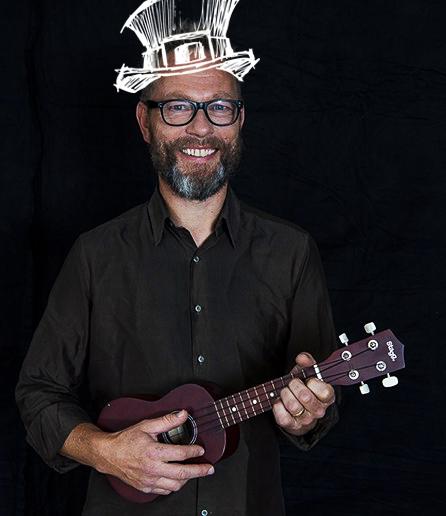 Steen Kyed, guitarist i RimRaketten.