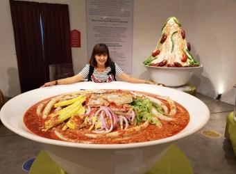 來這裡大玩特玩食物吧! 檳城/食物狂想館 放大100倍的食物拍好拍滿