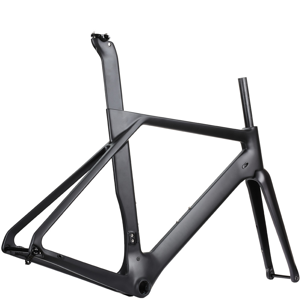Rinasclta aero disc brake carbon road bike frame 01