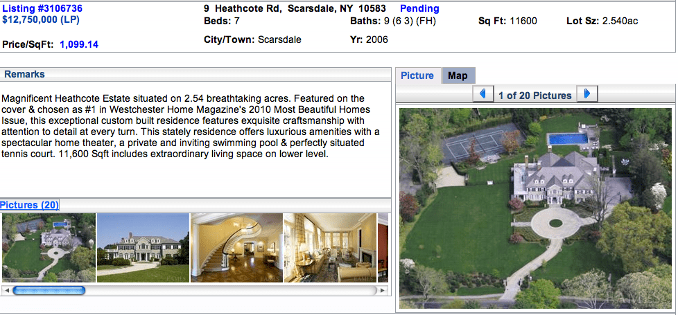 Beyonce & Jay Z Rumors/Facts on Heathcote Rd, Scarsdale, NY  (4/6)