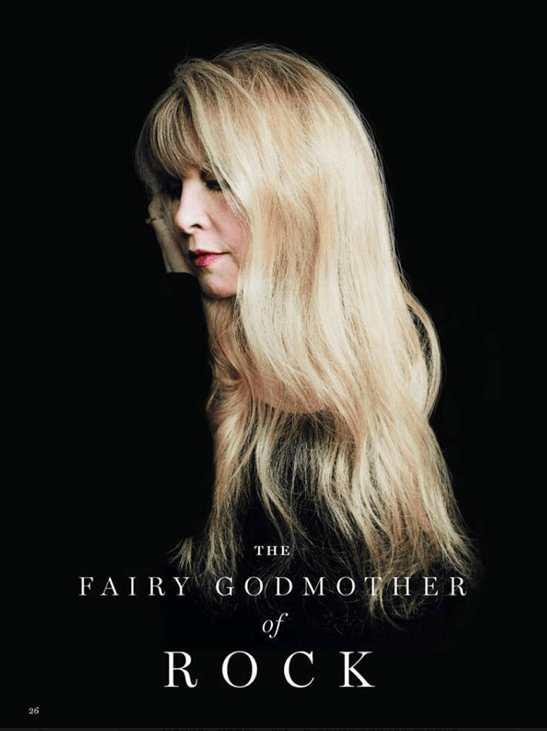 Stevie Nicks, the Fairy Godmother of Rock Who's Following Her Muse to 24 Karat Gold (5/6)