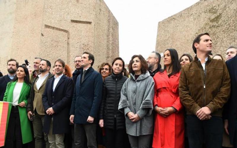 PP, Ciudadanos y VOX