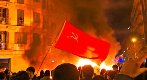 Manifestaciones comunistas Pablo Hasél