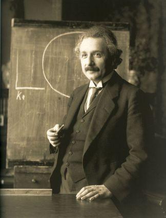 Albert Einstein profesor