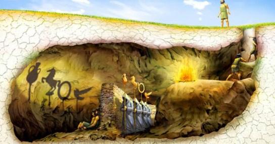 Mito de la caverna, de Platón