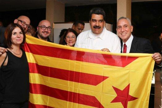 Nicolás Maduro independentismo catalán