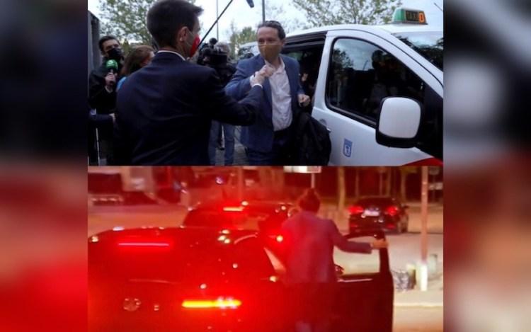 Pablo Iglesias taxi