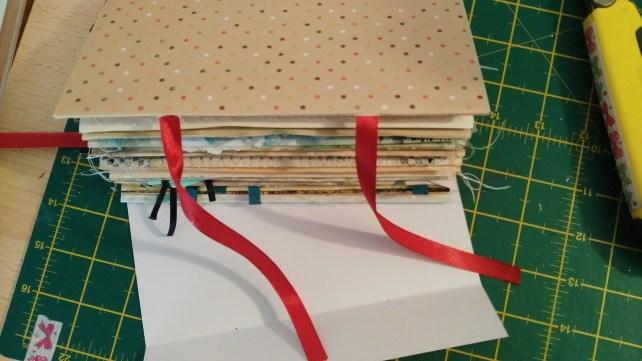 construcción portada project book scrap