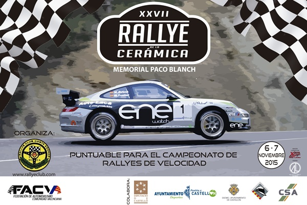 Cartel Rallye Cerámica