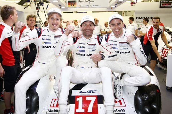 Porsche WEC Campeones en Barhein