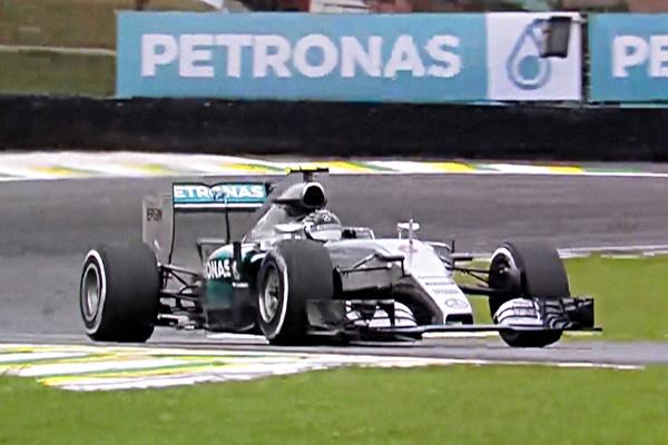 Nico Rosberg, Brasil