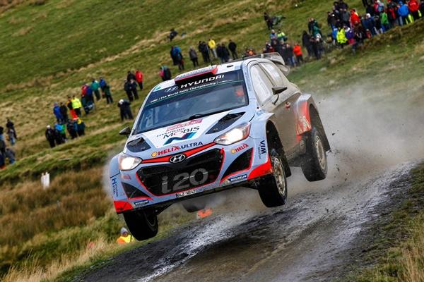 Danio Sordo Rallye Gales