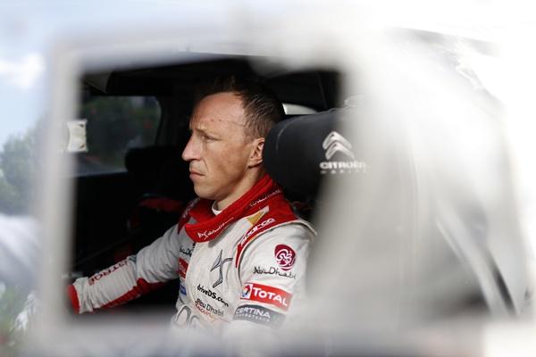 Kris Meeke Citroën Racing