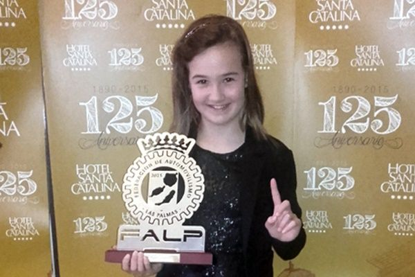 Luzmi Santana Campeona Alevin FALP 2015