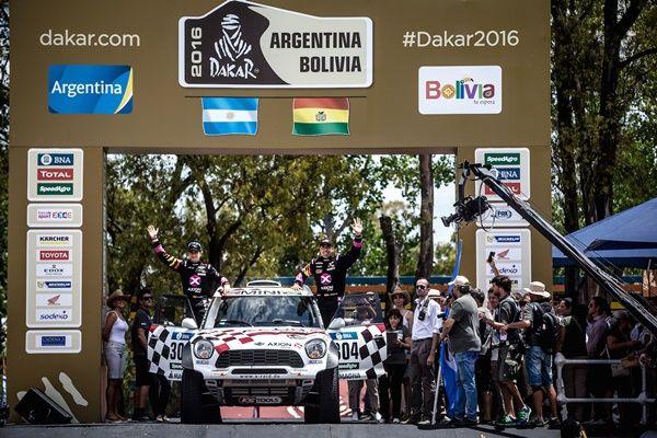 Salida para Nani Roma Dakar 2016