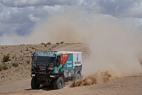 Pep Vila Iveco Dakar 2016