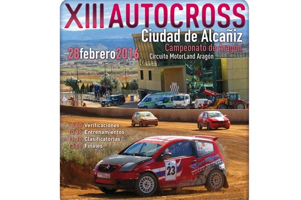 Cartel XIII Autocross Alcañiz