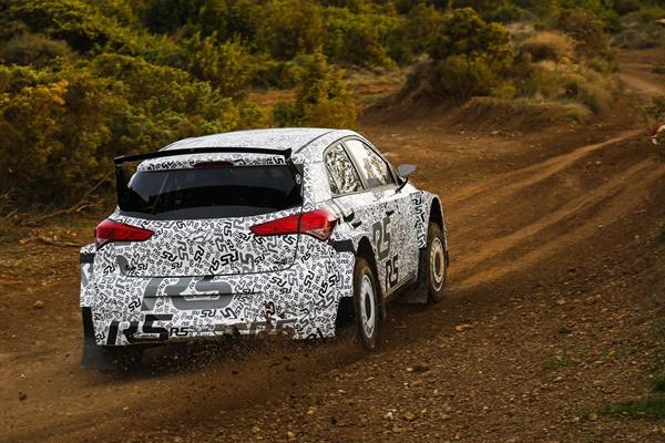 Hyundai i20 R5 pruebas