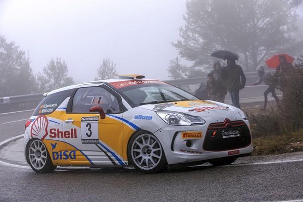 Jose Domenech ds3 r3t Rallye Pineda platja 2016
