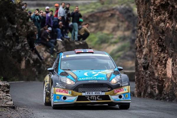 Ostberg Rallye Islas Canarias Fiesta R5