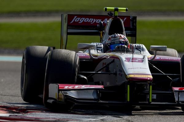 campos racing gp2 test