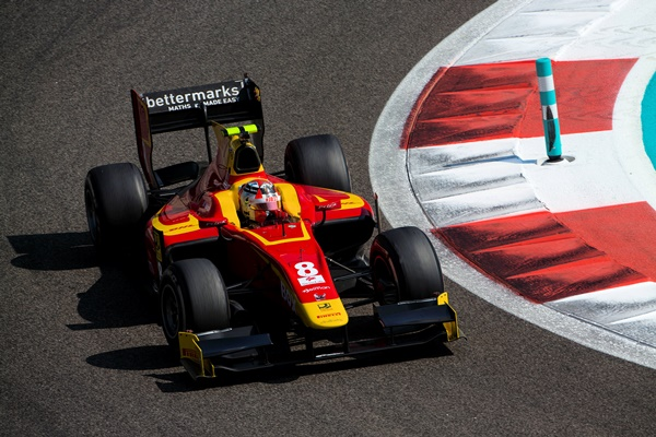 gp2 racing engineering test barcelona