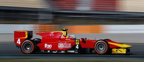 racing engineering test gp2 2016